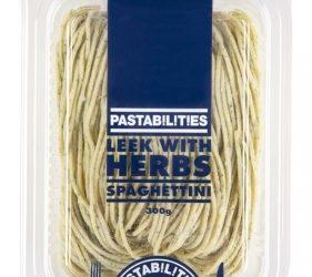 Pastabilities (Spagettini) – Leek With Herbs